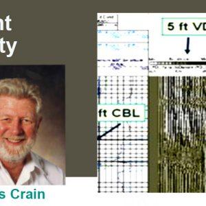 crain's petrophysics handbook cement integrity