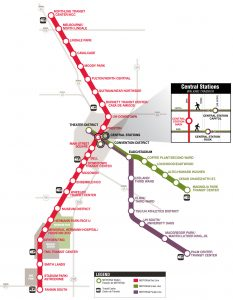 METRORail- Map for OTC