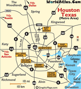 houston map otc houston