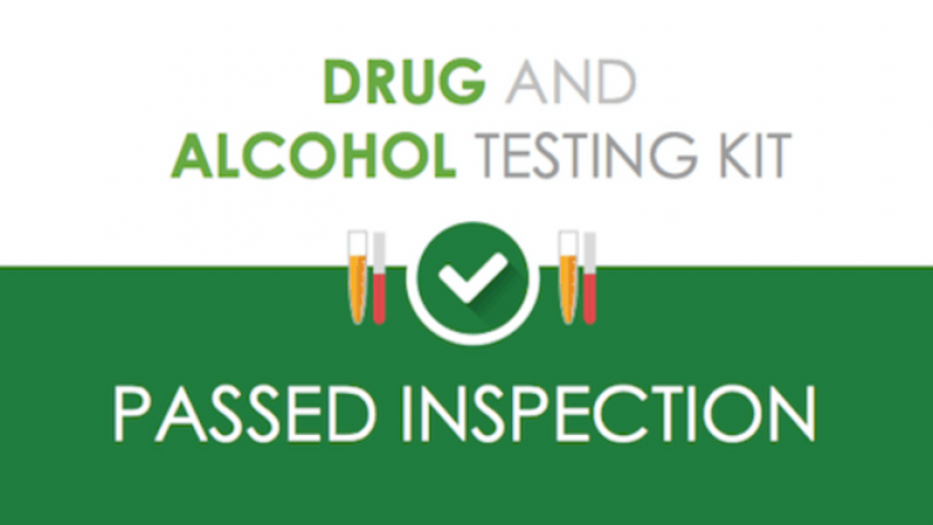 Drug-alcohol-testing kit