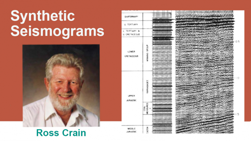 Crain's Petrophysics Handbook Synthetic Seismograms