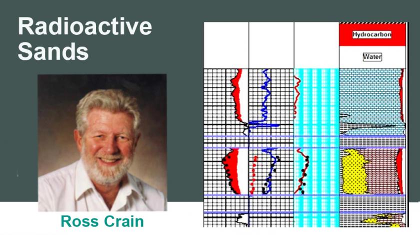 radioactive sands ross crain petrophysics